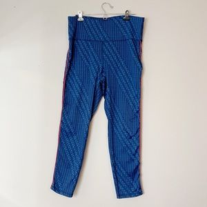Aerie Chill Play Move knit patterned leggings